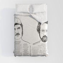 Jaws Dr Hooper Ink'd Series Comforters