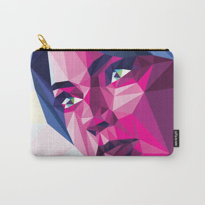 Magenta girl Carry-All Pouch