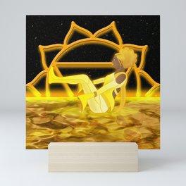 Inner Light: Solar Plexus Chakra (Updated) Mini Art Print
