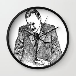Crying Man Wall Clock