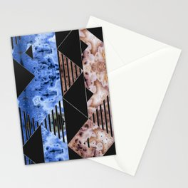 Agate Geode Textures Geometric Abstract  N5 Stationery Cards