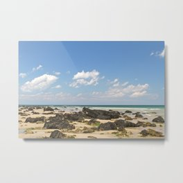 Sunny day by the Ocean Metal Print