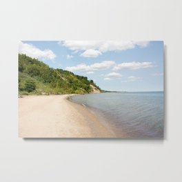AFE Bluffer's Beach Metal Print