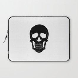 Skull (Black) Laptop Sleeve