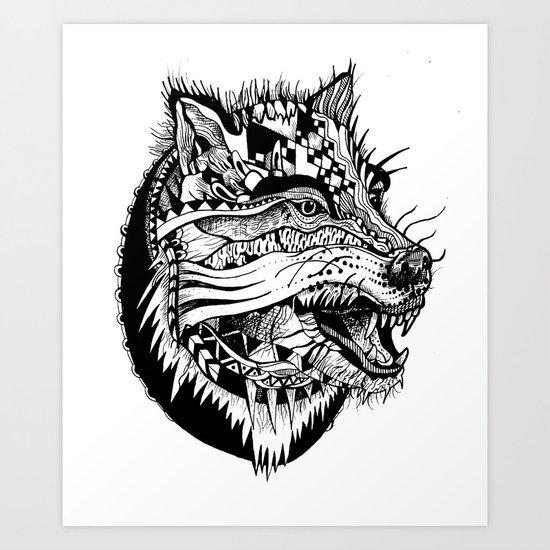 Ferocious Beauty Art Print