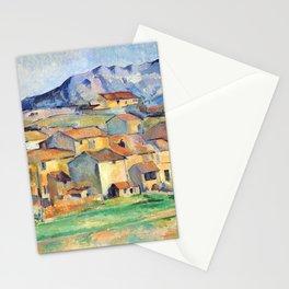 Paul Cézanne - Mont Sainte-Victoire and Hamlet Near Gardanne - Hameau à Payennet près de Gardanne Stationery Cards