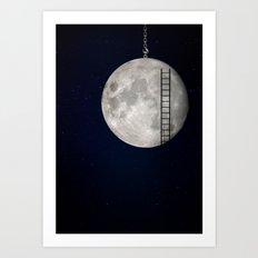 I'll Take You To The Moon Art Print