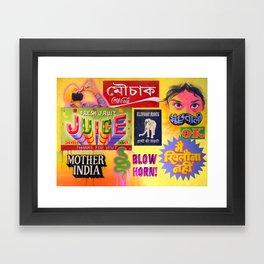 """""""TASTE OF INDIA"""" Framed Art Print"""