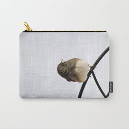 Pretty Winter Junco Carry-All Pouch
