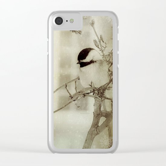 Tranquil Clear iPhone Case