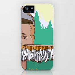 I love you mum iPhone Case