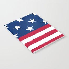 US Flag Notebook