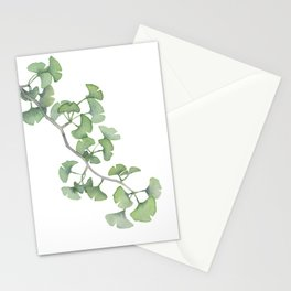 GINKGO, painting by Frank-Joseph Stationery Cards
