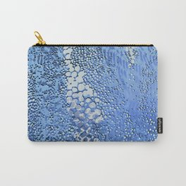 gush of dots in blue Carry-All Pouch