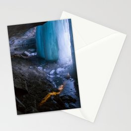 Frozen Curtains of Minnehaha Falls Stationery Cards