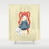 morning Shower Curtains featuring Morning by Freeminds