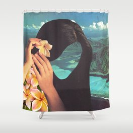 Polynesian Princess Shower Curtain
