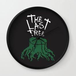 The Last Tree Wall Clock