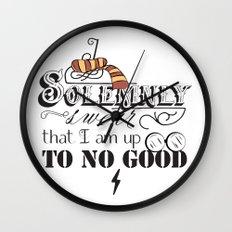 I Solemnly Swear Wall Clock