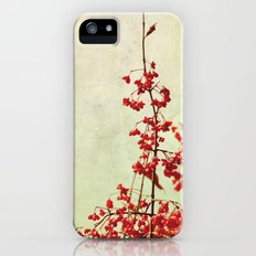 autumn berries iPhone (5, 5s) Slim Case