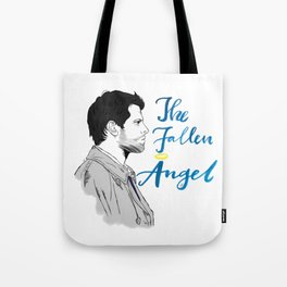 The Fallen Angel Tote Bag
