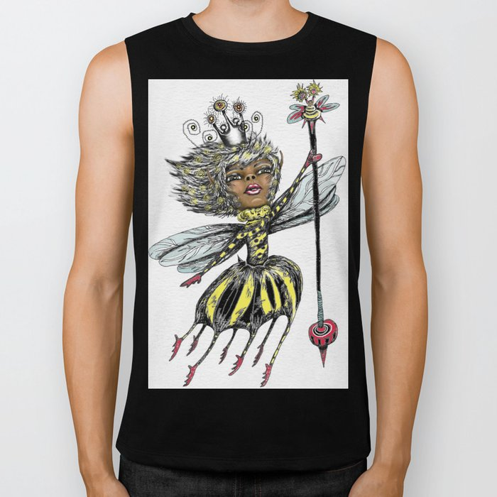Queen Bee of Color Biker Tank