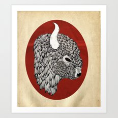The Buffalo Art Print