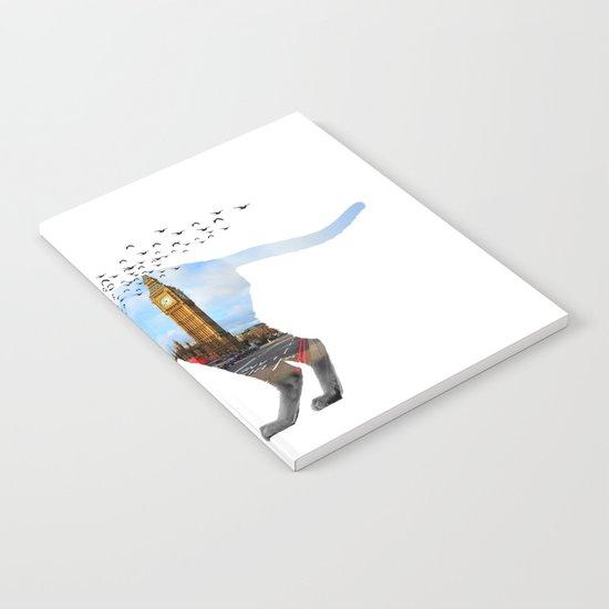 London cat Notebook