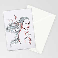 Queen of Ocean Stationery Cards