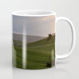 Rolling hills at the Wild Coast Coffee Mug