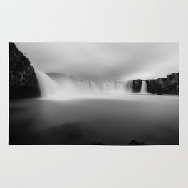 Godafoss waterfall in Iceland Rug