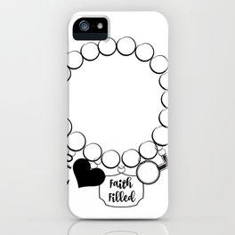Faith Filled Charm - Anchor iPhone Case