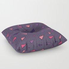 Triangles Rain #society6 #decor #buyart Floor Pillow