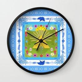 MIDSOMM∆R Wall Clock