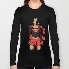 Girl of Steel Long Sleeve T-shirt