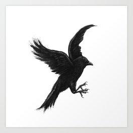 Crow & Alfred Art Print