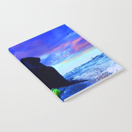 Ziggy Black Labrador Notebook