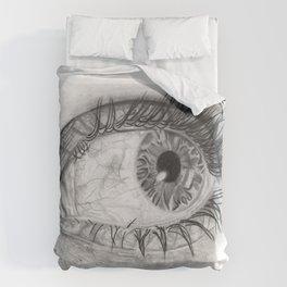 Blood-Shot eye Duvet Cover