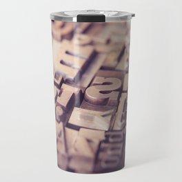 Type Travel Mug