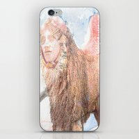 sphynx iPhone & iPod Skins featuring sphynx by Ganech joe