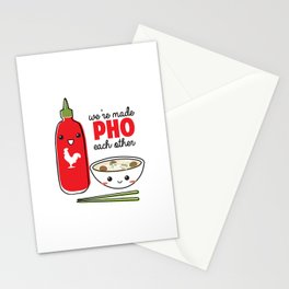 We're Made PHO Each Other Stationery Cards