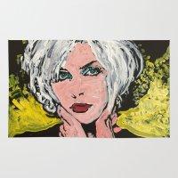 blondie Area & Throw Rugs featuring Blondie by Matt Pecson