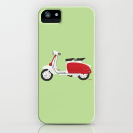 Cherry Scooter iPhone Case