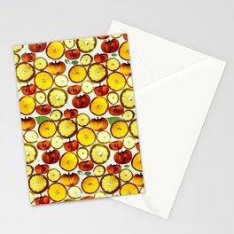 Fruit Pattern Stationery Cards
