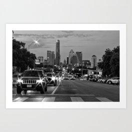 South Congress - Austin, TX Art Print