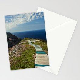 skyline walkway Stationery Cards