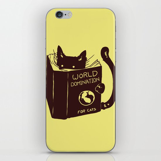 World Domination (for cats) iPhone & iPod Skin