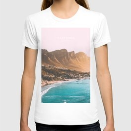 Cape Town, South Africa Travel Artwork T-shirt
