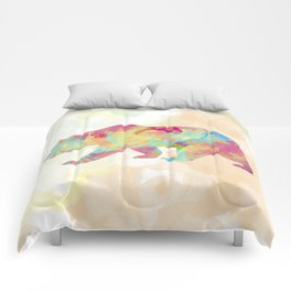 Abstract Bear Comforters