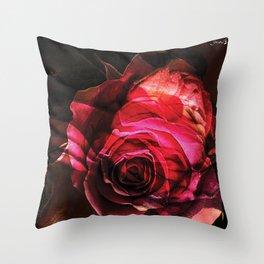 Rose colors fashion Jacob's Paris Throw Pillow